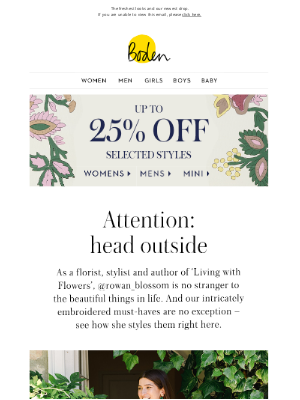 Boden (UK) - Getting dressed with @rowan_blossom (plus get up to 30% off)