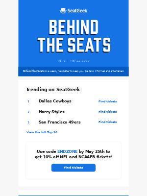 Behind the Seats, Vol. 6