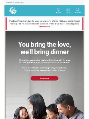 Chick-fil-A - 💕 Patricia, treat your Valentine to Nuggets