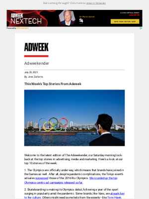 Adweek - This Week's Top Stories From Adweek