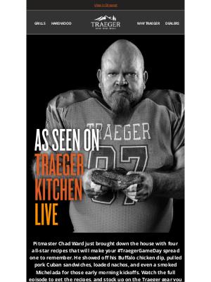 Traeger Grills - Upgrade Your #TraegerGameDay Spread