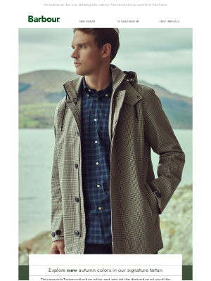 Barbour (UK) - Discover the New Men's Tartan Collection