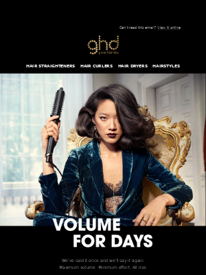 ghd (UK) - PSA: Rise is BACK