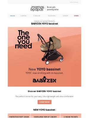 NEW | BABYZEN YOYO bassinet