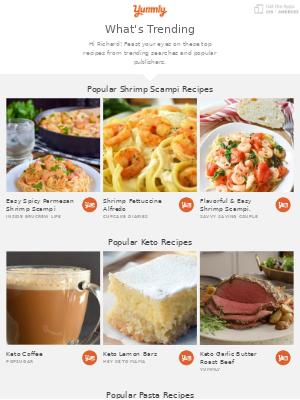The Best Shrimp Scampi 🍤 + Keto 🥩 + Pasta 🍝 Recipes on Yummly