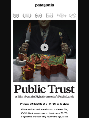 Patagonia - Public Trust – Our new film about the fight for America's public lands