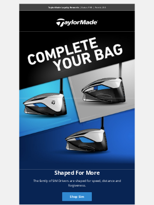 TaylorMade Golf - What's Missing from Your Golf Bag?
