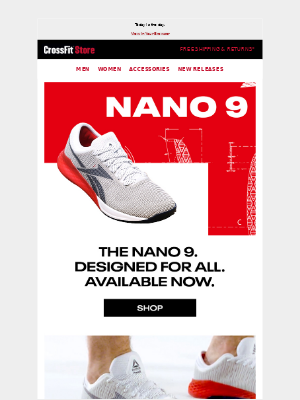 CrossFit Inc. - The Nano 9 has DROPPED.