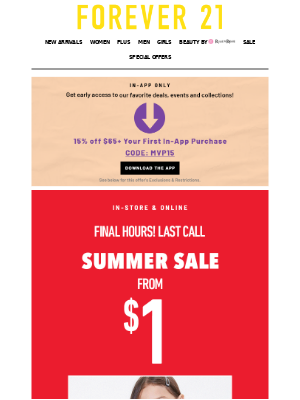 ⏳ Uh-oh, sale ends in a few hours...