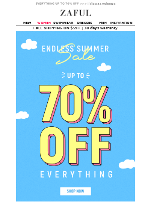 🌅Summer will end but SALE won't👗👖