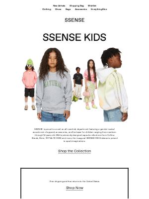 SSENSE - Introducing SSENSE KIDS