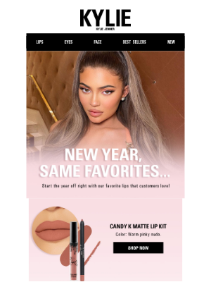 Kylie Cosmetics - New Year, Same Favorites 💋