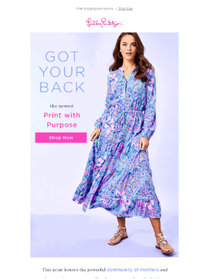 Lilly Pulitzer - Celebrate Mom & Support Baby2Baby