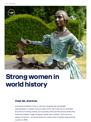 Lufthansa - In the footsteps of strong women