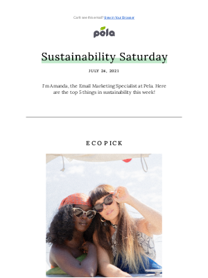 Pela Case - Sustainability Saturday   The Secret to Cleaning Our Oceans 🌊