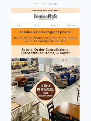 Bernie & Phyl's Furniture - ✨ CLEARANCE BLOWOUT ✨ Up to 70% OFF! ✨