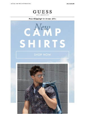 Just Arrived: New Camp Shirts