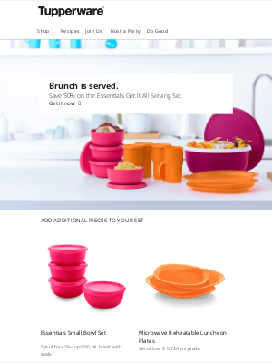 Tupperware - Is it time to eat, yet?