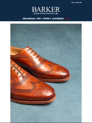 Barker Shoes - Turing Oxford Brogue | BarkerTech Collection | Pre-orders | Free UK Shipping On Orders Over £150
