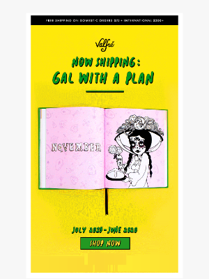 GAL WITH A PLAN IS NOW SHIPPING! 😍