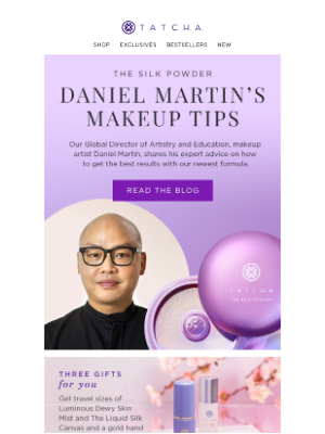 Tatcha - From the expert: how to use The Silk Powder