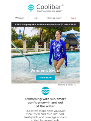 Coolibar - Stunning 🌟 NEW swimwear inside…