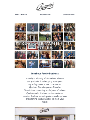 Grayers - From Our Family To Yours