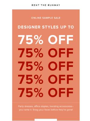 FWD: An insane designer deal.
