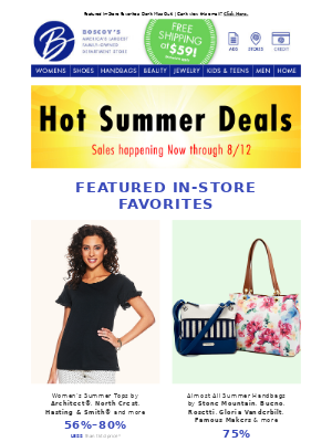 Great Summer Deals are Here!