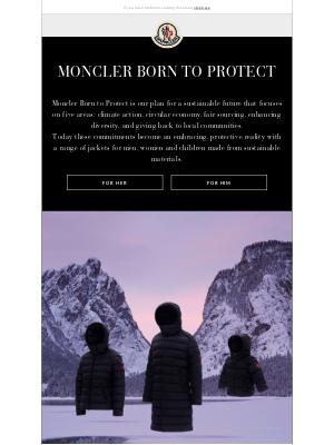 Moncler USA - Moncler Born to Protect