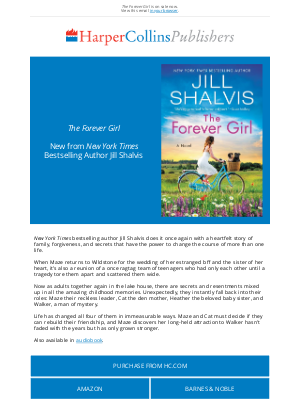 HarperCollins (UK) - Jill Shalvis returns with a heartfelt story of family, forgiveness, and secrets