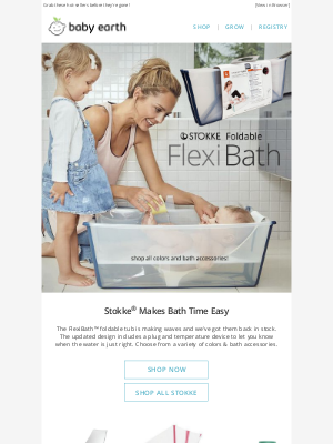 BabyEarth - New JLIKA® Designs and Stokke® FlexiBath™ & Tripp Trapp™ BACK IN STOCK