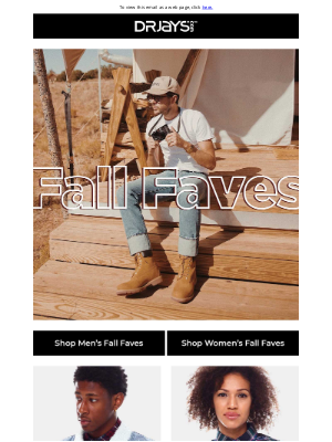 DrJays.com - Shop the Fall Favorites Collection