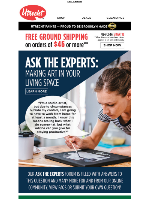 Need advice? Ask the Experts!