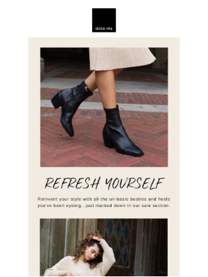 Dolce Vita - YOUR BOOT UPGRADE: NOW ON SALE