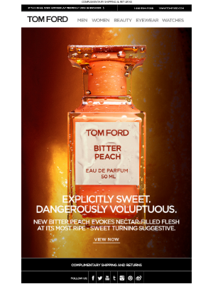 TOM FORD - EXPLICITLY SWEET. DANGEROUSLY VOLUPTUOUS. | DISCOVER BITTER PEACH