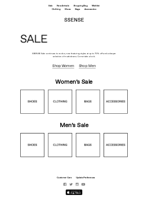 Sale Prevails: See What's New at up to 70% Off