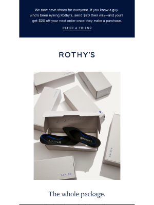 Rothy's - All about your package.