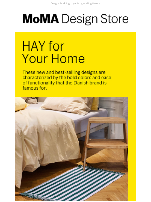 Museum of Modern Art Store (MoMA) - Here's Some HAY for Your Home