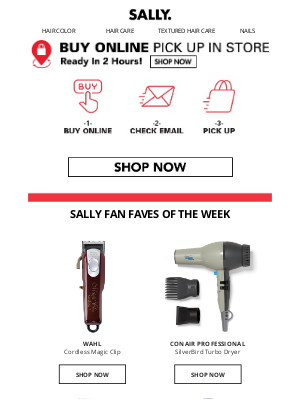 Sally Beauty - Shop Top Deals For Mother's Day & Get 2-Hour In Store Pickup