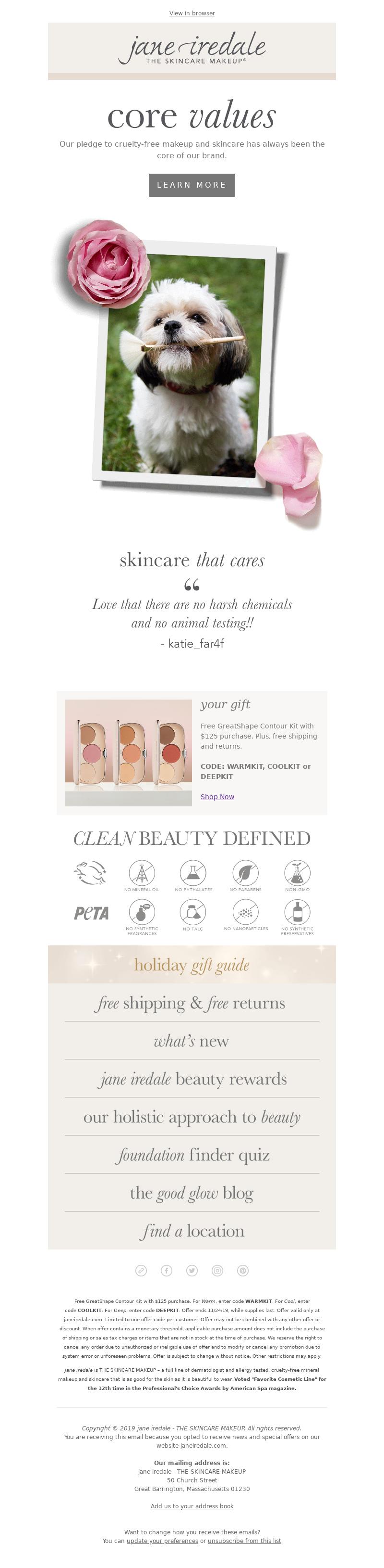 jane iredale - Free $49 Cruelty-Free Gift