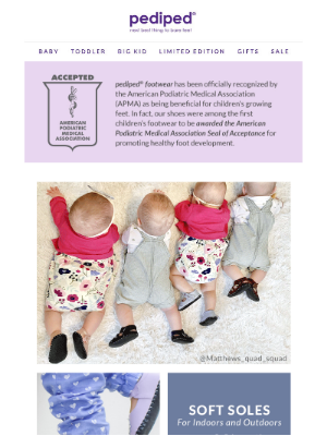 Pediped - Empower them with confidence | From the Feet up