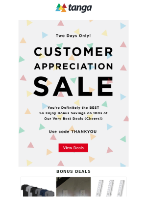 Tanga - You're the BEST ⭐ We Had to Say Thanks! (With a Coupon)