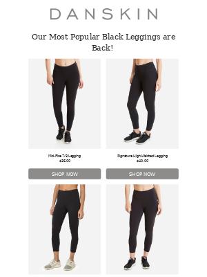 Danskin - Our Best Selling Black Leggings Are Back!