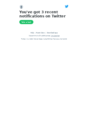 @rudolfbluenose, check out the notifications you have on Twitter