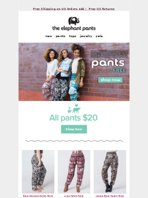 LAST CHANCE FOR FREE PANTS!!