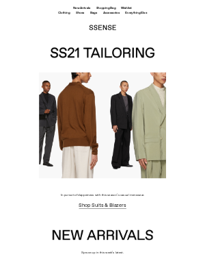 SSENSE - New Arrivals from Martine Rose, Fear of God, Gucci, and Loewe