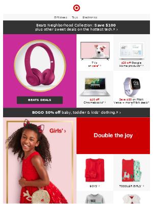 Beats Neighborhood Collection: Save $100 + deals on hottest tech.