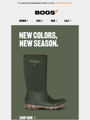 BOGS - Just In: New Fall Colors   Shop Women's