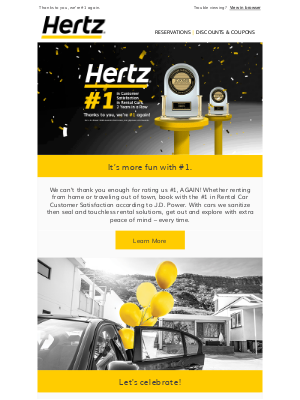 Hertz - 🎉It's a celebration! And you're invited!🎉